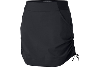 NWT Columbia Women's Anytime Casual Skort LARGE Black UPF 50 Active Fit Stretch