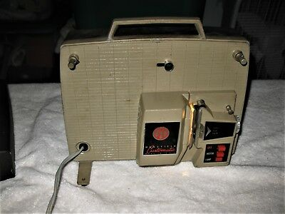 VINTAGE MANSFIELD CUSTOMATIC 8mm Movie Film Model 331 Projector Appears to Work