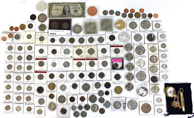 Huge U.S. & Foreign Coin Lot A Must SEE LOOK!!