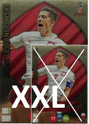 Lewandowski Xxl Limited Edition *world Cup 2018 Russia Panini Adrenalyn