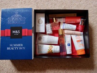 Marks And Spencers Beauty Box New