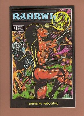 RAHRWL #1 (VF-) 1989 Northstar Publishing Art/Story by Ragne Naess Indy Mature