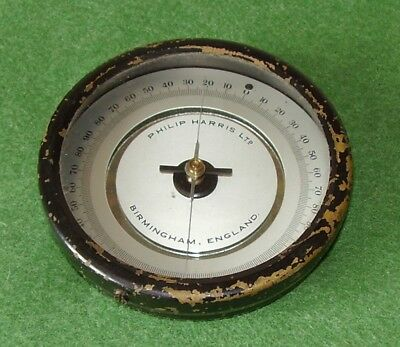 Antique Scientific Instrument Brass Galvanometer Philip Harris England