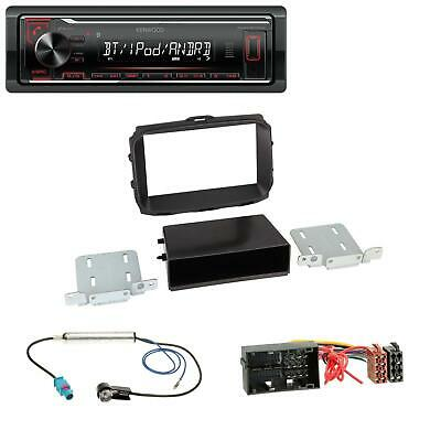 Kenwood AUX MP3 Bluetooth USB Autoradio für Alfa Romeo Giulietta 940 Facelift ab