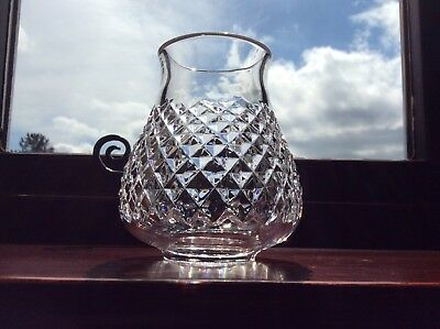Waterford Crystal Alana Bowl For Hurricane Lamp Candle Holder