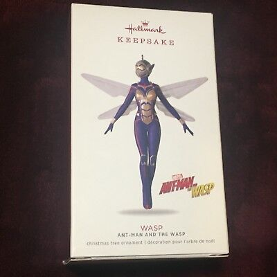 WASP from Ant-Man Hallmark 2018 Ornament Premiere LIMITED EDITION Ornament