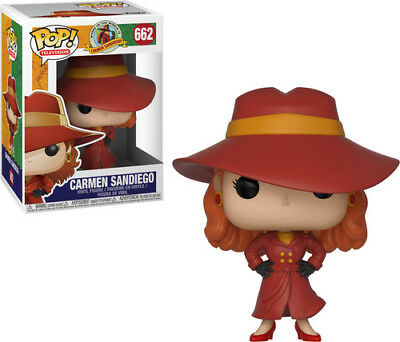Carman Sandiego - Carman Sandiego - Funko Pop! Television: (2018, Toy NEUF)