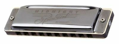 Fender® Midnight Special Diatonic 10 Hole Harmonica made by Seydel in Key of F
