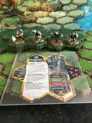 Axegrinders of Burning Forge - Heroscape Blackmoon's Siege Wave 9 Lot # 1