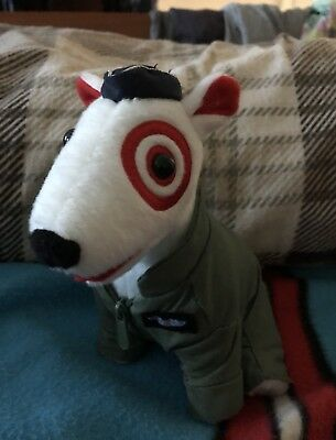 Target Airforce Bullseye Dog with Cap & Zip Up Jacket!