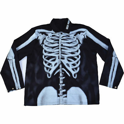 Save Phace Welding Jacket -XL, Bones/Skeleton Graphic Pattern, Model# 3012367