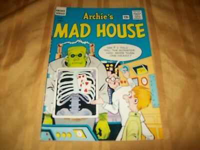 Archie's Mad House # 24 Comic 2nd Sabrina Appearance 1963 Higher Grade