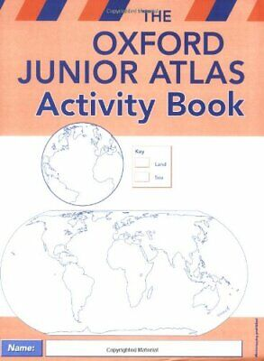 The Oxford Junior Atlas Activity Book by Wiegand, Patrick Paperback Book The