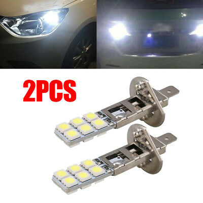 Led Replacement Headlight Bulbs >> 2pcs H1 12 Led Replacement Headlight Fog Light Bulbs Bright