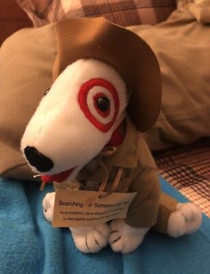 Target Someone Like You Bullseye Dog with Indiana Jones Type Outfit