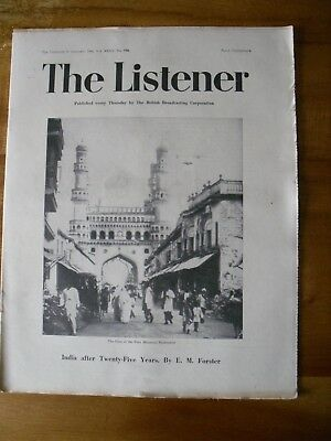 The Listener 31st  January  1946    Hyderabad  Cover