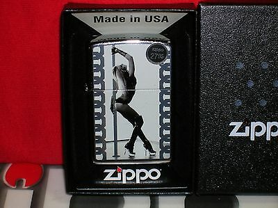 New Zippo Pole Dancer/stripper Lighter - #28448 - Save $$ Here- We Ship Fast!