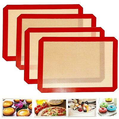 [Easy-Clean]Silicone Baking Mat Sheet Bakeware Non Stick Oven Cake Cookie Pastry