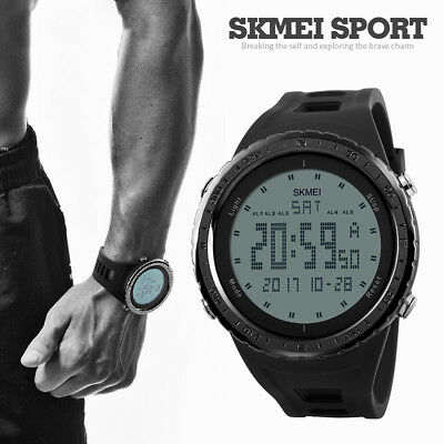 SKMEI Men Fashion Sports Smart Watch Military LED Digital Wrist Watch Waterproof
