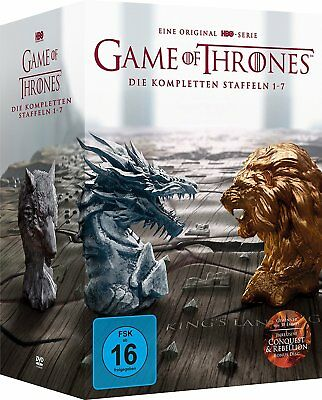 Game of Thrones Staffel 1-7 - 39 DVD - Limited Edition BOX - NEU&OVP Season 1-7