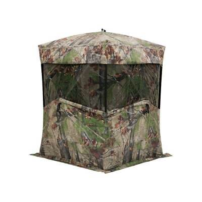Barronett Blinds Big Mike 2.0 Backwoods Ground Hunting Blind 80 Inch Camouflage