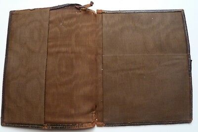 Antique oriental leather wallet or writing folio?