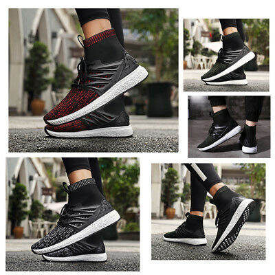 Men's Sneakers Outdoor Breathable Sport Running Athletic Shoes  High Jogger