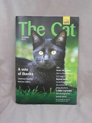 """"""" THE CAT """" Cats Protection Magazine. Issue Autumn 2017."""