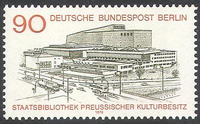 Germany (B) 1978 Prussian State Library/Building/Books/Heritage 1v (n41171)