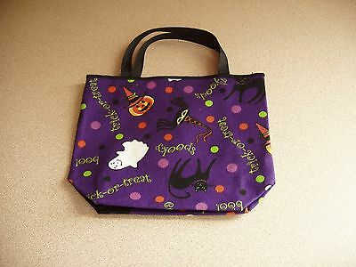 Longaberger Halloween Party Mini Tote / Gift Bag * Nwt * Free Shipping