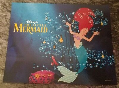 Walt Disney's The Little Mermaid lobby card # 5
