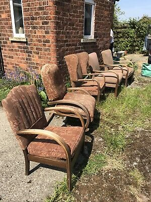Job Lot Of Early Knoll Chairs