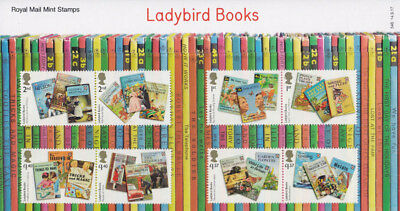 GB 2017 Ladybird Books set of u/m mnh 8 stamps SG 3999-4006 in pack #546