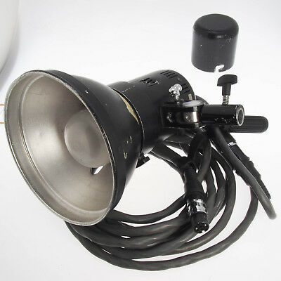 Comet Flash Lamp Head 2400WS w Transport Cover, Reflector & Extension Cable