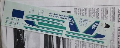 1/200 Flightpath Decal Air New Zealand DC-8-50 PAX