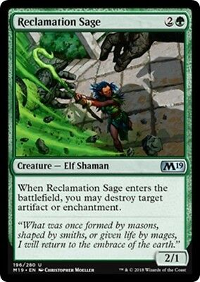 English x4 Sift MTG Core Set 2019 U M//NM