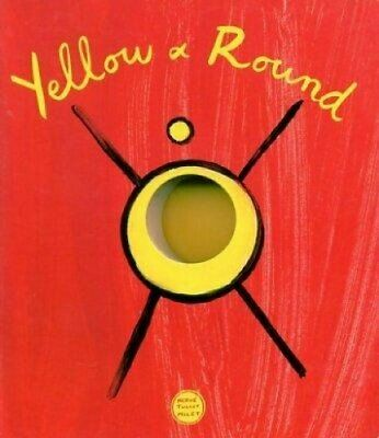 YELLOW & ROUND (English) by Herve Tullet Mixed media product Book The Cheap Fast