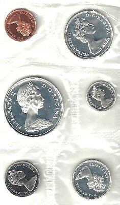 Canada - 1966 Mint Set In The Original  Packaging, No Coa Or Envelope