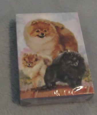 New & Sealed Pomeranian DOG DEck of Playing Cards by Ruth Maystead ~  Nice