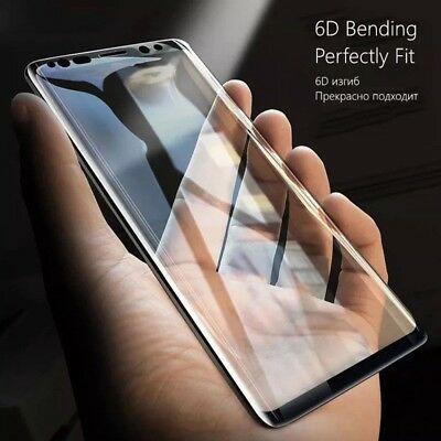 6D Full Cover Tempered Glass Screen Protector for Samsung Galaxy Note8 S8 S9Plus