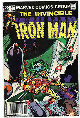 "1982. ""The Invincible IRON MAN"". Marvel comic Vol.1 #162. VG."