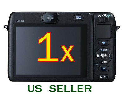 1x Clear LCD Screen Protector Guard Cover Film For Canon PowerShot N100 Camera