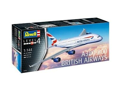 Revell 03922 - 1/144 Airbus A380-800 British Airways - Neu
