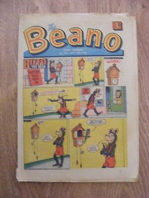 1966 The Beano Comic dated Sept 17th 1966 - in ok condition  - number 1261