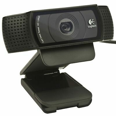Logitech C920 Pro HD Webcam 1080P Microphone Video Call Skype USB PC Camera New
