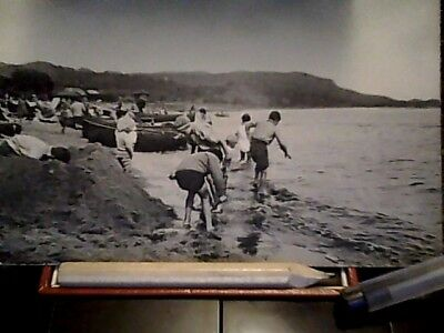post card on the sands burntisland unposted