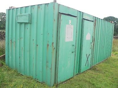 Site Office Welfare Unit Anti Vandal Cabin Mobile Office Steel Container