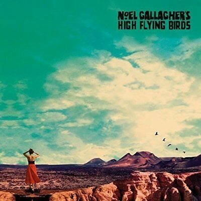 Noel Gallagher High Flying Birds Who Built The Moon? Cd New Sealed Oasis Liam