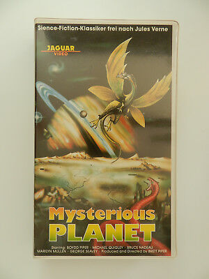 VHS Video Kassette Mysterious Planet Boydd Piper Michael Quigley