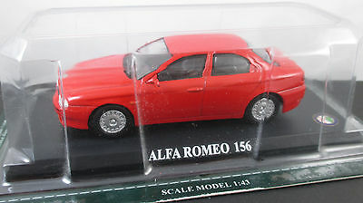 Del Prado - Car Collection 63  ALFA-ROMEO 156  1998   1:43
